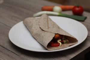 tortilla zöldségpogácsa